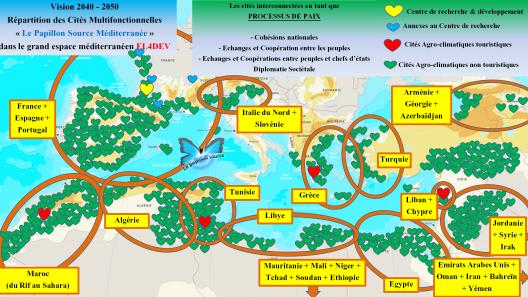3 - Répartition des cités dans le nouvel espace méditerranéen 1