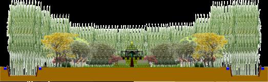 Humidification des bosquets profi 2l